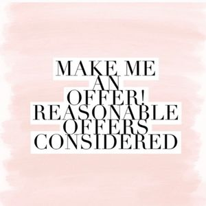 Make me an offer! You have to ask for a yes! 🌹